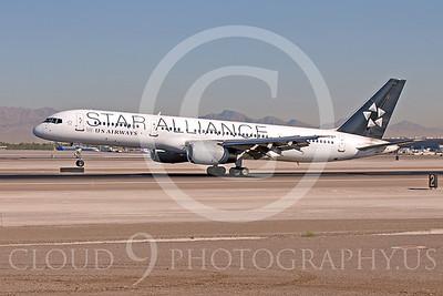 ALPSA 00001 Boeing 757 US Airways STAR ALLIANCE by Dave Budd