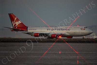 ALPN 00005 Boeing 747 Virgin Atlantic by Peter J Mancus