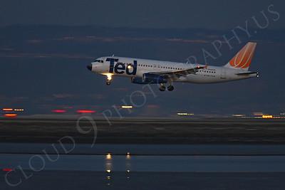 ALPN 00074 Airbus A320 Ted N442UA by Peter J Mancus