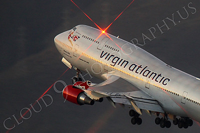 ALPN 00050 Boeing 747 Virgin Atlantic G-VRDC by Peter J Mancus
