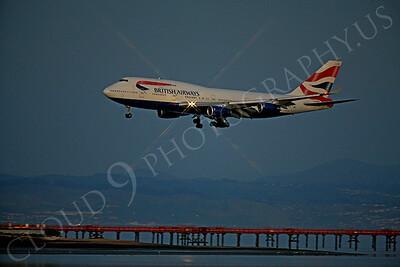 ALPN 00046 Boeing 747 British Airways G-BYGC by Peter J Mancus