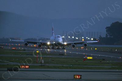 ALPN 00013 Boeing 747 British Airways by Peter J Mancus