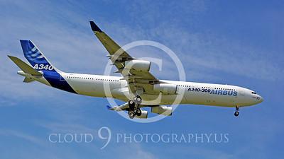 WSP-AL 00050 Airbus A340--300 F-WWAI by Stephen W D Wolf