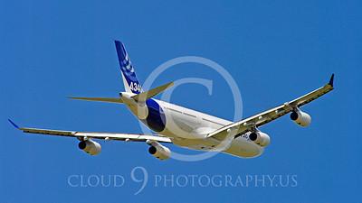 WSP-AL 00076 Airbus A340-300 F-WWAI by Stephen W D Wolf