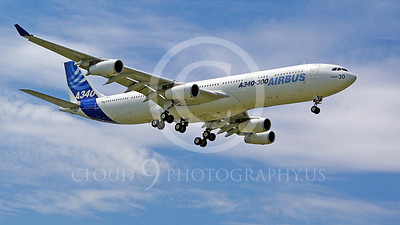WSP-AL 00002 Airbus A340--300 by Stephen W D Wolf