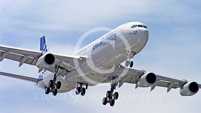 WSP-AL 00098 Airbus A340-300 F-WWAI by Stephen W D Wolf