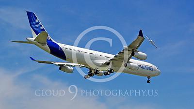 WSP-AL 00126 Airbus A340-300 F-WWAI by Stephen W D Wolf