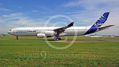 WSP-AL 00022 Airbus A340--300 F-WWAI by Stephen W D Wolf