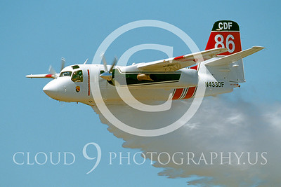 FF-S-2 00012 Grumman S-2 Tracker Calif Div Forestry # N433DF Aug 2003 by Peter J Mancus