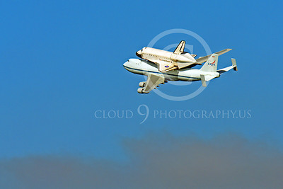 NASA-Space Shuttle 00014 The space shuttle Endeavour in flight on a NASA Boeing 747 N905NA on its last flight on September 21, 2012, airplane picture, by Peter J Mancus