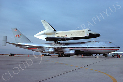 NASA-Space Shuttle 00002 Boeing 747 and Space Shuttle Enterprise Edwards AFB November 1977 by Peter J Mancus