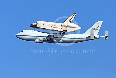 NASA-Space Shuttle 00031 The space shuttle Endeavour in flight on a NASA Boeing 747 N905NA on its last flight on September 21, 2012, by Peter J Mancus