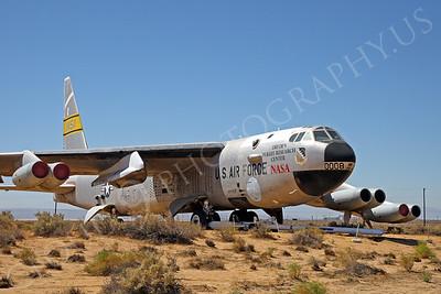 NASA-B-52 00004 NASA Boeing B-52B Stratofortress Mothership Launch Aircraft Edwards AFB by Peter J Mancus