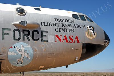 NASA-B-52 00002 NASA Boeing B-52B Stratofortress Mothership Launch Aircraft Edwards AFB by Peter J Mancus