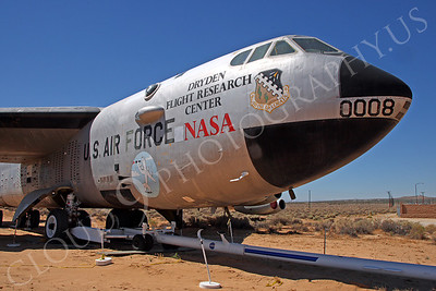 NASA-B-52 00008 NASA Boeing B-52B Stratofortress Mothership Launch Aircraft Edwards AFB by Peter J Mancus