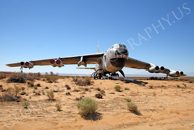 NASA-B-52 00006 NASA Boeing B-52B Stratofortress Mothership Launch Aircraft Edwards AFB by Peter J Mancus