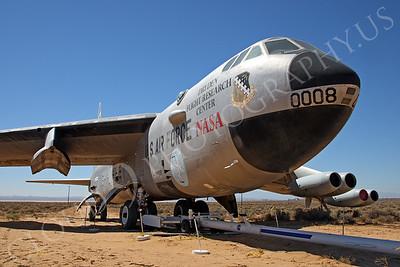 NASA-B-52 00007 NASA Boeing B-52B Stratofortress Mothership Launch Aircraft Edwards AFB by Peter J Mancus