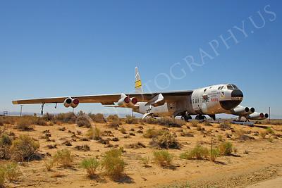 NASA-B-52 00003 NASA Boeing B-52B Stratofortress Mothership Launch Aircraft Edwards AFB by Peter J Mancus