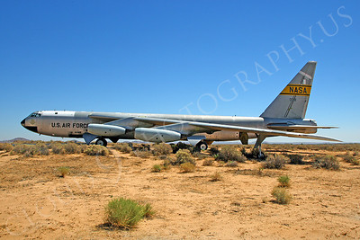 NASA-B-52 00016 NASA Boeing B-52B Stratofortress Mothership Launch Aircraft Edwards AFB by Peter J Mancus