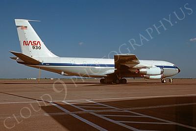 NASA-C-135 00001 NASA Boeing C-135 N930NA 25 March 1992 via African Aviation Slide Service