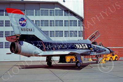 NASA-F-106 00001 Convair F-106B Delta Dart NASA N816NA 27 Oct 1982, by Stephen W D Wolf