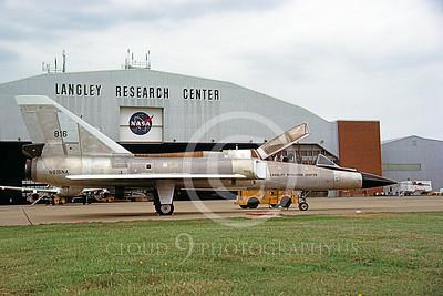 NASA-F-106 00011 A static Convair F-106B Delta Dart NASA N816NA NASA Langley Research Center 1-1985 airplane picture by David F Brown