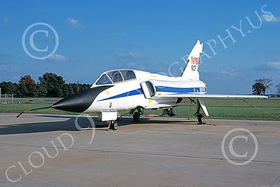 NASA-F-106 00005 A static Convair F-106B Delta Dart NASA N607NA 572607 11-1982 military airplane picture by Horace Cooper