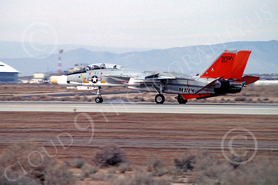 NASA-F-14 00001 Grumman F-14 Tomcat NASA 991 Edwards AFB Jan 1983, by Michael Grove, Sr