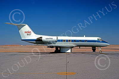 NASA-Gulfstream II 00001 Gulfstream II NASA N947NA El Paso 3 Dec 1977 by Peter J Mancus