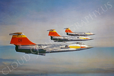 NASA-F-104 00001 Lockheed F-104 Starfighter via Lockheed Aircraft Company
