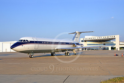BIZJET - BAC One-Eleven 00001 A nice portrait of a BAC One-Eleven bizjet, airplane picture, by Jay Shelby Davis