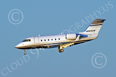 BIZET - Challenger 00012 Bombardier Canadair CL-600 Challenger N664CW by Peter J Mancus