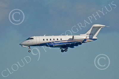 BIZET - Challenger 00006 Bombardier Canadair CL-600 Challenger N508FX by Peter J Mancus