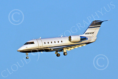 BIZET - Challenger 00002 Bombardier Canadair CL-600 Challenger N664CW by Peter J Mancus