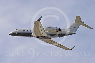 BIZJET 00004 Grumman G-1159 Gulfstream II by Peter J Mancus