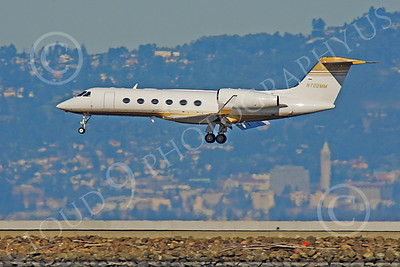 BIZET - Gulfstream Gulfstream IV 00146 Gulfstream Gulfstream IV N722MM by Peter J Mancus