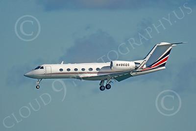 BIZET - Gulfstream Gulfstream IV 00144 Gulfstream Gulfstream IV N486QS by Peter J Mancus