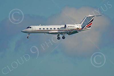 BIZET - Gulfstream Gulfstream IV 00100 Gulfstream Gulfstream IV N486QS by Peter J Mancus