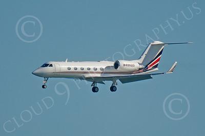 BIZET - Gulfstream Gulfstream IV 00134 Gulfstream Gulfstream IV N486QS by Peter J Mancus