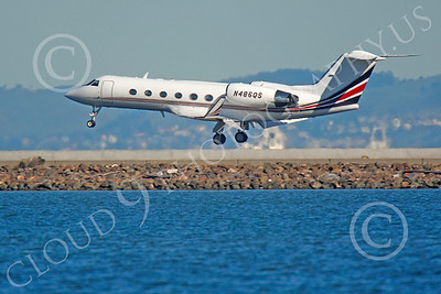 BIZET - Gulfstream Gulfstream IV 00078 Gulfstream Gulfstream IV N486QS by Peter J Mancus