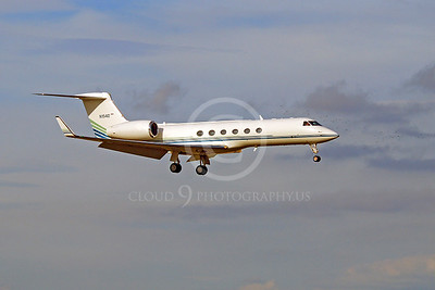 BIZJET 00006 Gulfstream Aerospace Gulftream V N1540 by Alasdair MacPhail