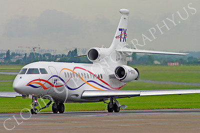 BIZJETP - Dassault Falcon 7X 00017 Dassault Falcon 7X prototype F-WFBW aircraft picture by Stephen W D Wolf