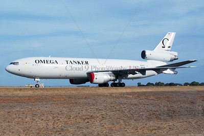 CivART 001 A static McDonnell Douglas DC-10, modified for drogue aerial refueling, Omega Tanker, N974VV, official USAF picture produced by Cloud 9 Photography     Dt
