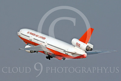 FF - Douglas DC-10 00024 Douglas DC-10 N450AX Cal Fire 10 Tanker Air Carrier 910 fire attack airplane by Carl E Porter