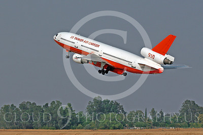 FF - Douglas DC-10 00016 Douglas DC-10 N450AX Cal Fire 10 Tanker Air Carrier 910 fire attack airplane by Carl E Porter