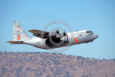 FF-C-130 00002 A flying Lockheed C-130 Hercules California ANG fire fighting airplane picture 8-2001 by Peter J Mancus