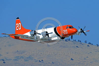 FF-P-3 00002 A flying Lockheed P-3 Orion fire fighting airplane picture by Peter J Mancus