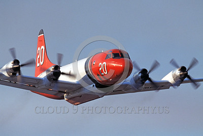 FF-P-3 00004 A flying Lockheed P-3 Orion fire fighting airplane picture by Peter J Mancus
