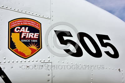 FF-OV-10 00021 A tight crop view of the nose of a static North American OV-10 Bronco Cal Fire 505 N470DF McClellan at Santa Rosa fire fighting airplane picture by Peter J Mancus