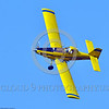 CropDuster 0014 A low flying Air Tractor Inc  AT-401 crop duster, N9179N, banks to continue spraying a field in Wasco, California 8-2017 crop duster picture by Peter J  Mancus     DONEwt